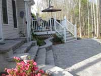 patio deck stairs